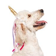 Midlee Dog Unicorn Headband Halloween Costume