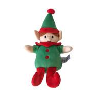 Midlee Christmas Elf Plush Dog Toy
