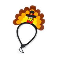 Midlee Turkey Dog Headband