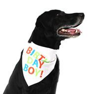 Midlee Birthday Boy Dog Bandana (Large)