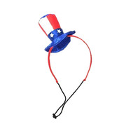 Midlee Uncle Sam 4th of July Hat for Large Dogs Headband