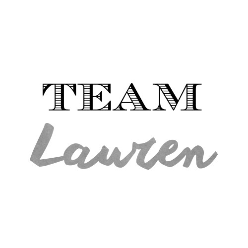 Go Lauren! Spread your message of awareness or show support for someone special in your life by ordering personalized 'Team' Flash Tattoos.