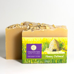 Honey Oatmeal Soap with Goat's Milk