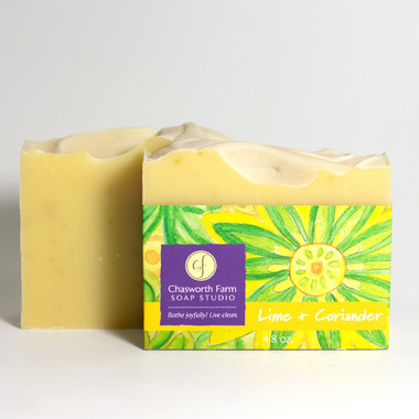 Lime + Coriander Soap