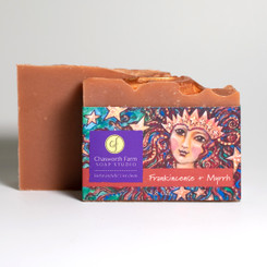 Rich, hypnotic frankincense and myrrh soap
