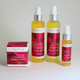 Everything's Coming Up Roses! Facial Care Kit for sensitive skin.