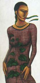 Ivy Delight  (AKA) Art Print - Lashun Beal