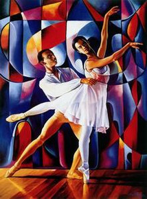 Dancers Art Print - Alix Beaujour