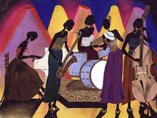 No Man's Band Art Print - Leroy Campbell
