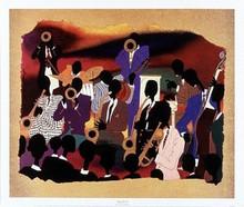 Big Band Art Print - Leroy Campbell