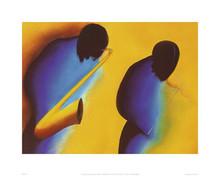 In Tune (15.7 x 19.7in) Art Print - Patrick Ciranna