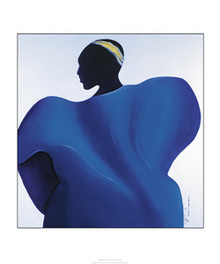Majestic Blue Art Print - Patrick Ciranna