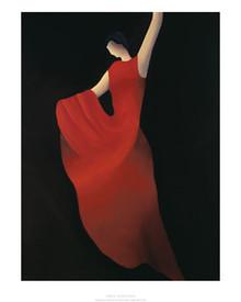 Flamenco Art Print - Patrick Ciranna