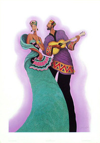 Serenade (Signed) Art Print - Albert Fennell