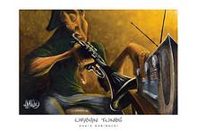 Urban Tunes Art Print - David Garibaldi
