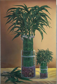 Lucky Bamboo II Art Print - David Gunter