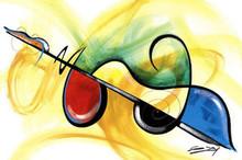 Flavor of Music Art Print - Gerald Ivey
