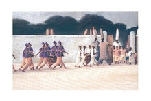 A Place of Crossing Art Print - Earl Jackson