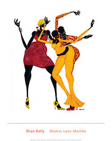 Mamas Love Mambo Art Print - Shan Kelly