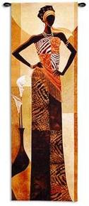 Amira Art Print - Keith Mallett