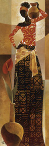 Bahiya Art Print - Keith Mallett