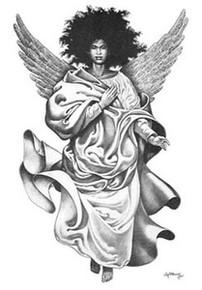 Angel Heart Art Print - Cal Massey