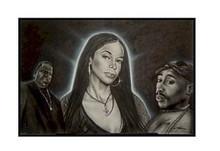 Hip Hop Legends Art Print - Fred Mathews