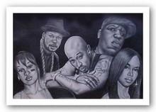 Hip Hop Legends II Art Print - Fred Mathews