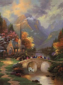 Bridge Of Faith Art Print - Hulis Mavruk