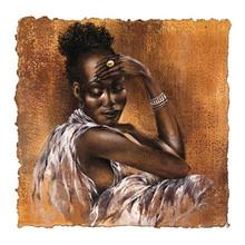 Ebony I Art Print - Ben Mogador 1334