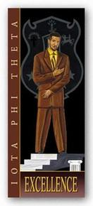 Excellence - Iota Phi Theta Art Print - Johnny Myers