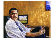 Obama, Historical Journey Art Print - Andrew Nichols