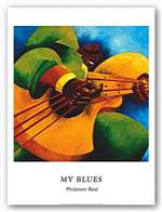 My Blues (8 x 10) Art Print - Philemon Reid