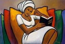 Afternoon Reader Art Print - Romeo