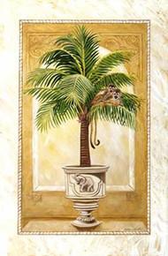 Monkey Palm II Art Print - Katherine Roundtree
