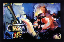 Dizzy Gillespie Art Print - Sablan Bruni