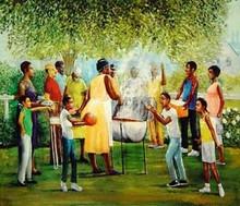 Family Reunion Art Print - Lavarne Ross