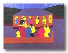 Congregating Limited Edition Art Print - Synthia Saint James