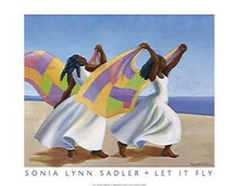 Let It Fly Art Print - Sonia Sadler