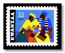 Kwanzaa Limited Edition Art Print - Synthia Saint James