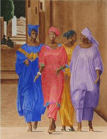 Sunday Morning Senegal Art Print - Glenn Steward, Sr