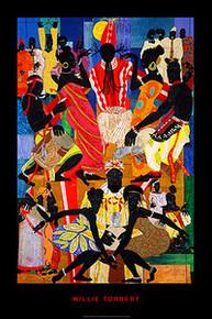 Culture Center Art Print - Willie Torbert