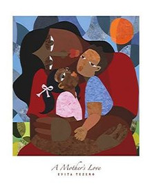 A Mother's Love Art Print - Evita Tezeno