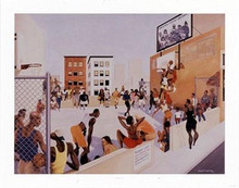Piedmont Court (mini) Art Print - Ernest Watson