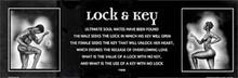 Lock & Key - Male & Female (Statement Edition) Art Print - Kevin A. Williams - WAK