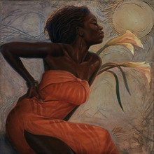 African Lillies Limited Edition Art Print - Kevin A. Williams - WAK