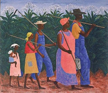 Field Workers Art Print - Ellis Wilson