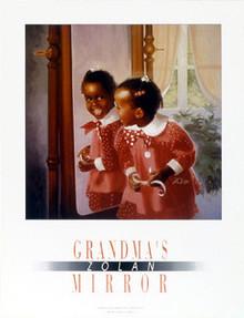 Grandma's Mirror Art Print - Donald Zolan