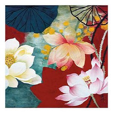 Lotus Dream I Art Print - Hong Mi Lim