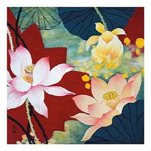 Lotus Dream II Art Print - Hong Mi Lim